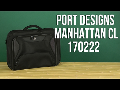 "Распаковка PORT Designs Manhattan CL 17.3"" Black 170222"