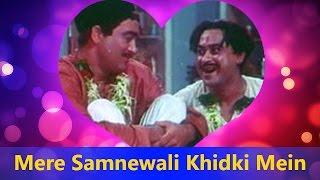 Download Hindi Video Songs - Mere Samnewali Khidki Mein (Happy) | Kishore Kumar - Padosan Valentine's Day Song