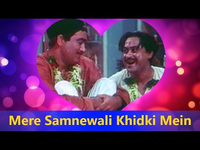 Mere Samnewali Khidki Mein (Happy) | Kishore Kumar - Padosan Valentine's Day Song