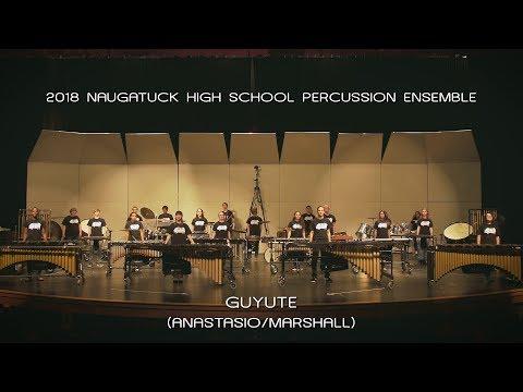 2018 Naugatuck High School Percussion Ensemble: Guyute (Phish)