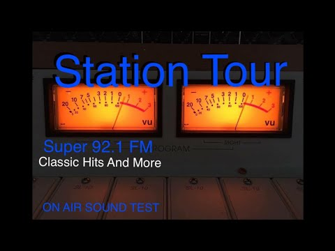 Tour Of My FM Broadcast Radio Station