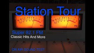 Tour Of My FM Broadcast Radio Station