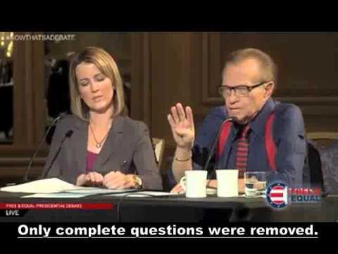 Hawaii Political Reporter 10/26 Fri Free and Equal Presidential Debate Gary Johnson Jill Stein