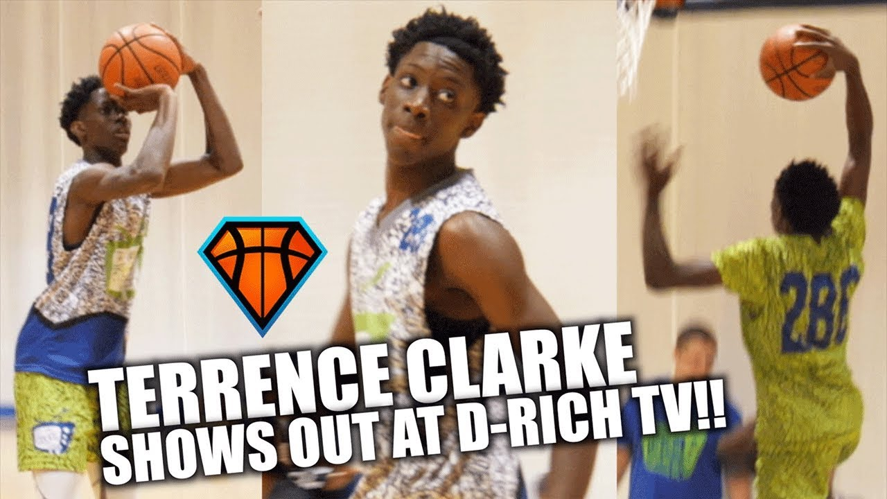 9th Grader Terrence Clarke SHOWS OUT at D-Rich TV Camp ...