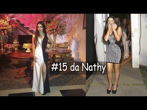 Festa surpresa de 15 anos para Nathany