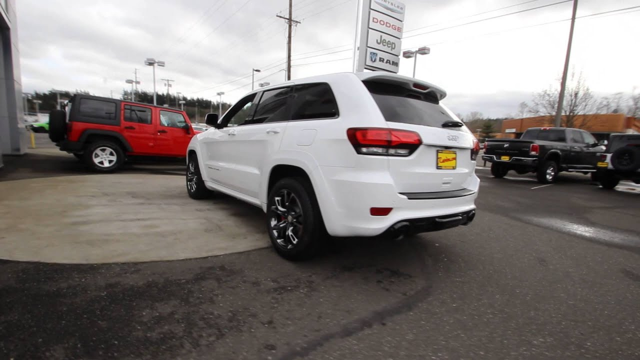 2016 Jeep Grand Cherokee SRT Bright White Clearcoat GC