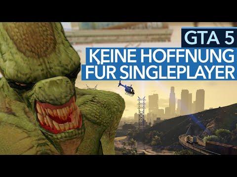GTA 5 - Neue Alien-Mission Ist Der Sargnagel Für Singleplayer