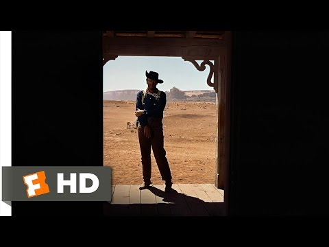 The Searchers (1956) - The Doorway Scene (10/10) | Movieclips