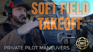 How to fly in 360 & VR: Soft Field Takeoff