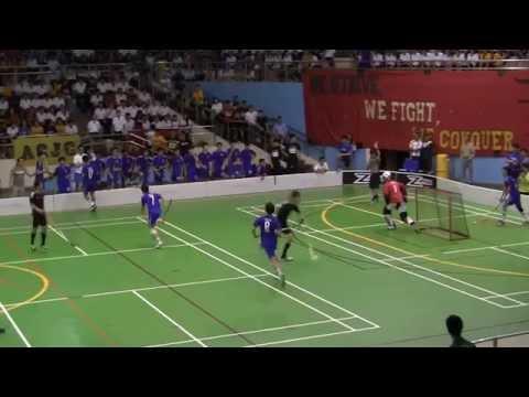 A division Floorball 2014 Finals: RJC vs ACJC (Period 1)