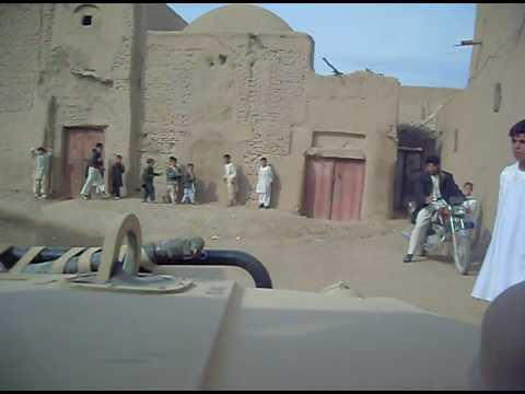 Cruising in Farah, Afghanistan