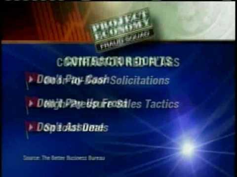 Fraud Squad: Avoid Fraudulent Contractors
