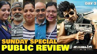 Saaho Movie SUNDAY SPECIAL Public Review | Saaho THIRD DAY Public Talk | Prabhas, Shraddha Kapoor