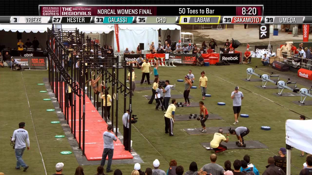 Crossfit Games The Final Women S Event At The Norcal