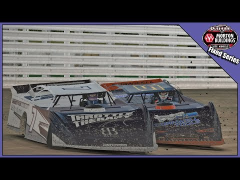 World Of Outlaws Late Model Series @ Knoxville Raceway - Fixed S3 W9 2019