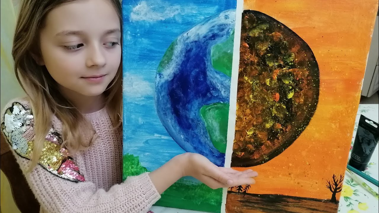 Earth Day - painting