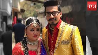 Bharti Singh ties the knot with Haarsh Limbachiyaa in this beach wedding