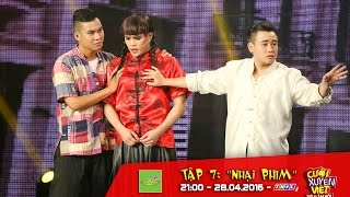 Cười Xuyên Việt - Tiếu Lâm Hội tập 7: Chết cười với dị bản Tân Bến Thượng Hải của nhóm X-Pro