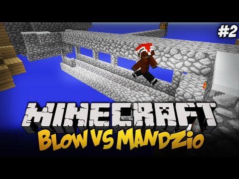 BLOW VS MANDZIO - Śpiewamy Znowu mam bana ! - S01E02 (Single Block Challange)