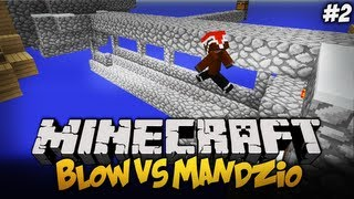 BLOW VS MANDZIO - Śpiewamy Znowu mam bana ! - S01E02 (Single Block Challange)