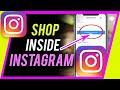 How to Shop Inside Instagram - New Native Shopping Cart - GAMECHANGER!