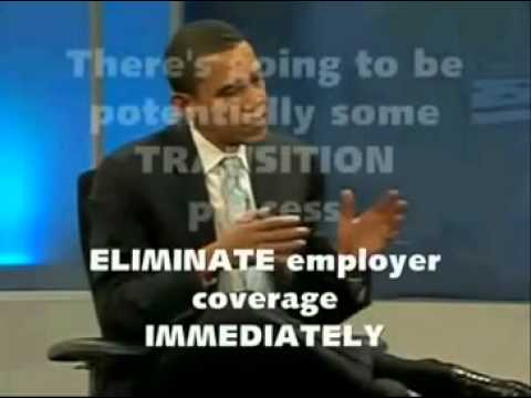 obama master plan on health careover the years in his own words--SINGLE PAYER!!!