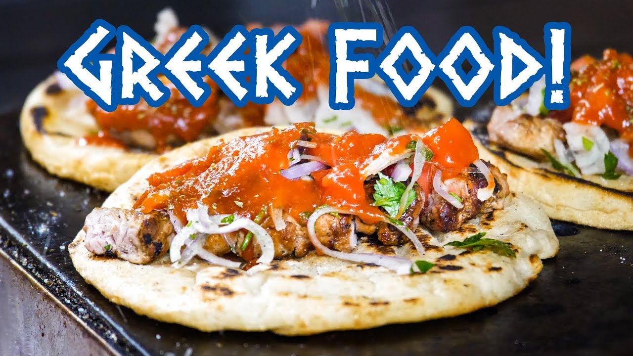 Greek Food Street Food Tour And Amazing Souvlaki In Athens Greece