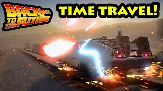 EPIC Back to the Future w/ Time Travel GTA 5 Mod 2020