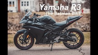 2017 Yamaha R3 Raven Edition - R3 Walk Around - Best Entry Sports Bike -
