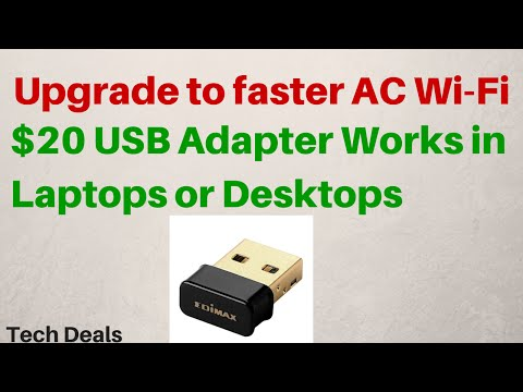 $20 USB WiFi Adapter - AC Wireless - 802.11ac - Review