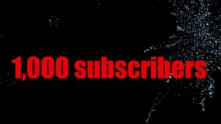 Video 1,000 subscribers, thank you video download MP3, 3GP, MP4, WEBM, AVI, FLV November 2017