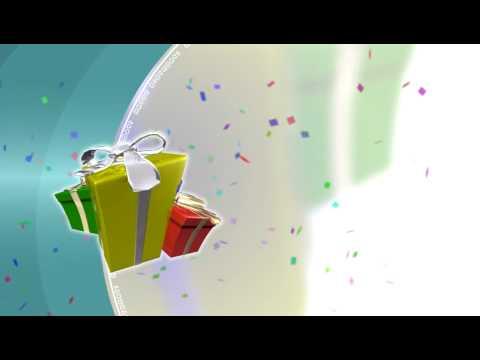 Sony Vegas Birthday Template - YouTube
