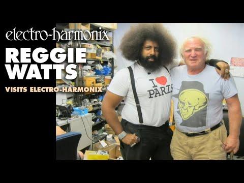 Reggie Watts visits Electro-Harmonix