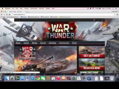 How to install warthunder on Mac [WILL WORK]