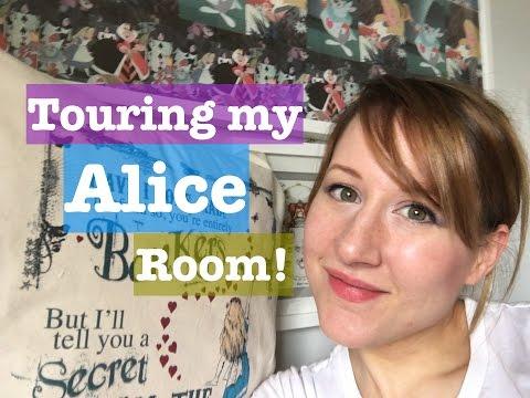 Touring my Alice Room!