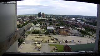 Single Digits & Genuity Networks Live Peregrine Falcon Feed3 (Manchester, NH, USA)