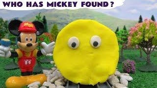 Mickey Mouse Play Doh Thomas and Friends Guessing Game Toy Train Thomas Y Sus Amigos Playdough