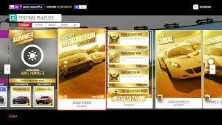 WHAT IS THE FESṪIVAL PLAYLIST AND HOW TO GET 100% COMPLETE | Forza Horizon 4