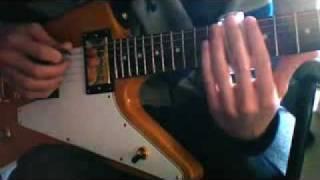 @#dj carlinhos(guitar) Free Bird Slide Intro solo
