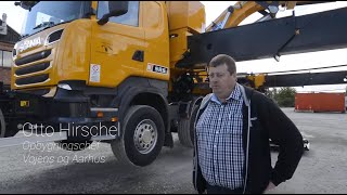 2 Scania med 53 tons avanceret råstyrke til Banedanmark