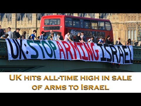 UK arms sales to Israel increase 11-fold in 3 years
