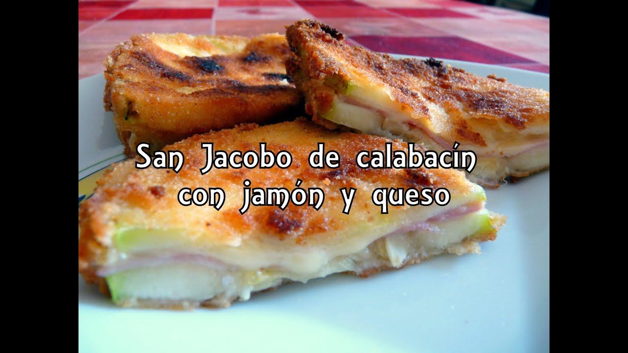 Cocina f cil san jacobo de calabac n con jamon y queso - Videos cocina facil ...