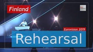 Darude feat. Sebastian Rejman - Look Away - Eurovision 2019 Finland (Rehearsal)