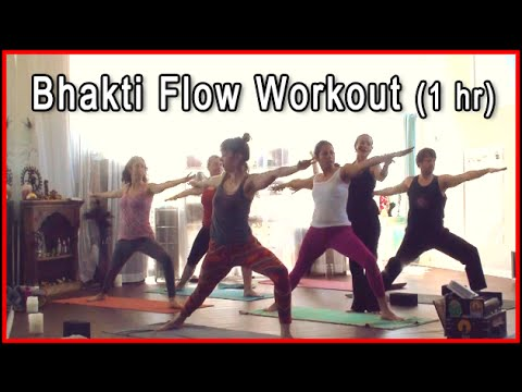 Bhakti Yoga Class - yoga workout with Kumi Yogini ~ 1 hour