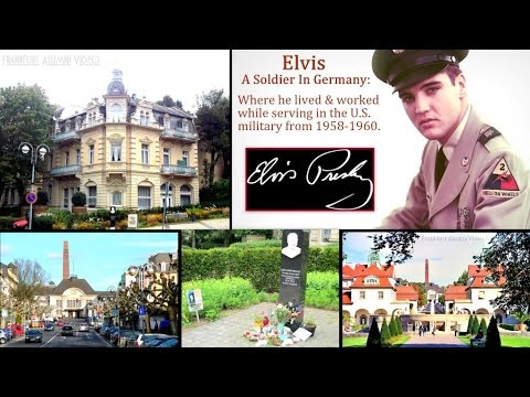 Elvis A Soldier In Germany: The Town He Lived In During Service (Prt.1/4)