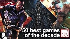 Die 50 besten Spiele 2010 bis 2020 von VG 24/7 (DerSorbus Reaction Deutsch)