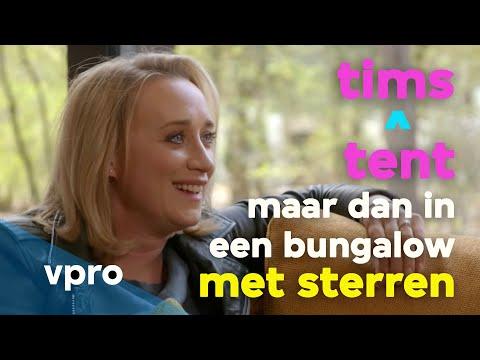 Eva Jinek in Tims ^ tent: maar dan in een bungalow met sterren