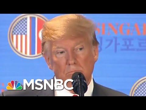 Donald Trump Military Concession Was A Surprise To Kim Jong-Un, And The Pentagon | Hardball | MSNBC