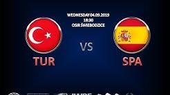LIVE: ECMA: TURKEY - SPAIN /group B/