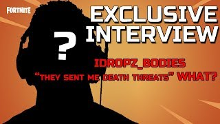 """EXCLUSIVE* Fortnite Interview with IDropz_Bodies! DID HE """"CHEAT""""? Clearing the air!"""